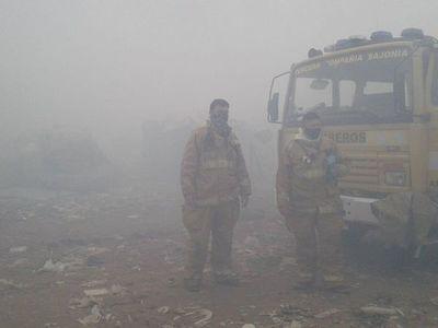 Vertedero Cateura sufre un incendio de gran magnitud