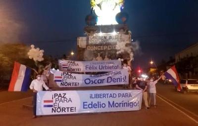 Familiares de secuestrados clamaron por la liberación y la paz en el norte