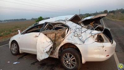 Joven muere en un vuelco de vehículo •