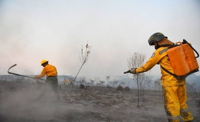HOY / Controlan incendio en la Reserva Tatí Yupí