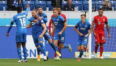 Hoffenheim pone fin a la racha del Bayern