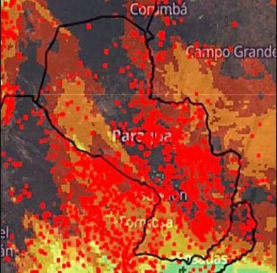 Con más de 7.000 focos de calor, el país sigue ardiendo mientras instituciones se pelotean