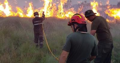 La Nación / Incendio en la Reserva Tatí Yupí fue controlado