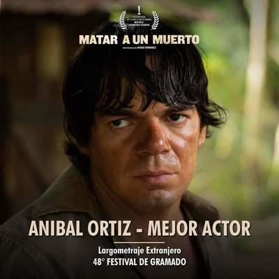 ANIBAL ORTIZ: MEJOR ACTOR EN EL FESTIVAL DE GRAMADO
