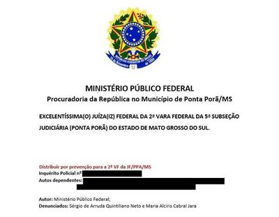 Nombre de magistrado de Pedro Juan salta en investigación del Ministerio Público de Brasil
