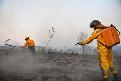 Incendios en dos reservas afectaron unas 36 hectáreas