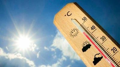 Récord histórico de temperaturas máximas