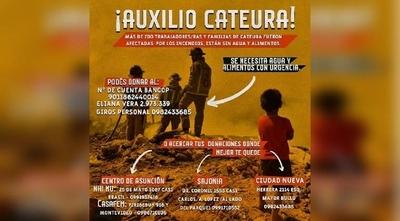 HOY / Recolectarán donaciones de agua y alimentos para familias afectadas por incendio en Cateura