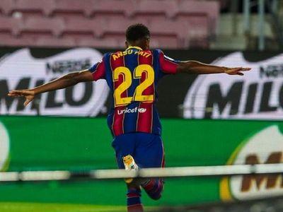 Ansu Fati lidera la goleada del Barcelona