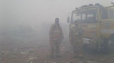Habilitan escuelas para afectados por incendios en Cateura