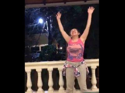 Polémico video de Zulma Gómez para demostrar su hartazgo de la cuarentena