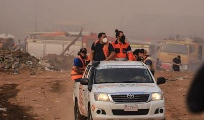 MEC habilita escuelas en zona de Cateura para albergar a afectados por incendios