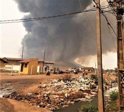 Habilitan escuelas en zona de Cateura para albergar a afectados por incendios