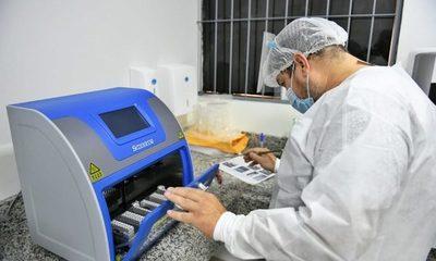 Instalan equipos para más hisopados en laboratorio Covid