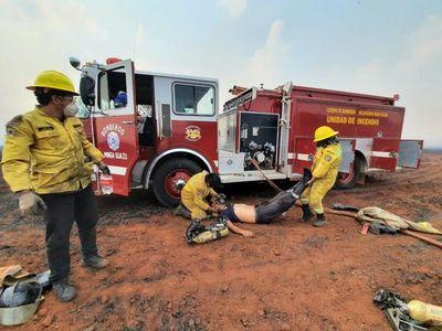 Bomberos reportan nueve incendios en Alto Paraná