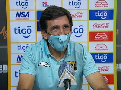 Costas dice que el triunfo motiva de cara al juego contra Tigre