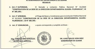 La Nación / En Guairá amañan otra licitación a favor del amigo de Friedmann