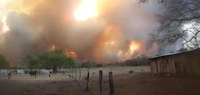 Varias zonas del país fueron afectados por incendios – Prensa 5