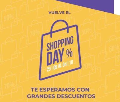 Los principales centros comerciales del Paraguay vuelven a lanzar el #ShoppingDay