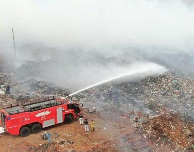 Cateura en llamas, 700 personas fueron evacuadas
