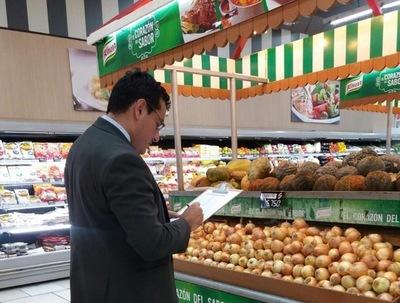 Sedeco supervisa precios en supermercados de Asunción y Central