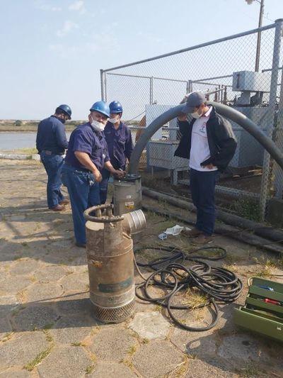 Nuevas bombas en Viñas Cué para evitar desabastecimiento de agua