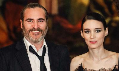 Joaquin Phoenix y Rooney Mara recibieron a su primer hijo