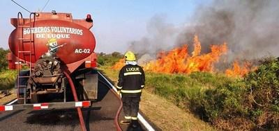 Fiscales investigarán incendios en todo el país •
