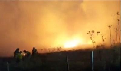 Fiscal General designa equipos de fiscales para investigar incendios y precisar si fueron intencionales