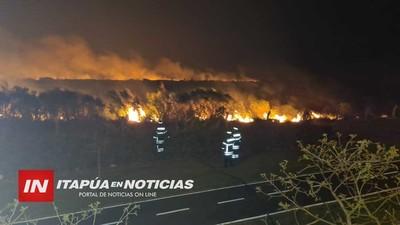 INCENDIOS SON PASIBLES DE MULTAS EN ENCARNACIÓN, ADVIERTEN.
