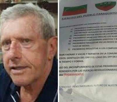 Sancarleños ponen en duda autenticidad de panfletos dejados supuestamente por el EPP
