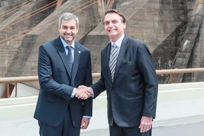 Marito y Bolsonaro fijarán esta semana la fecha de apertura de frontera
