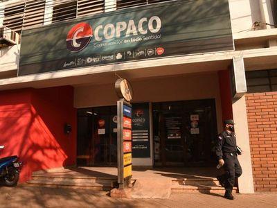 Delincuente fallece en intento de asalto a sucursal de Copaco