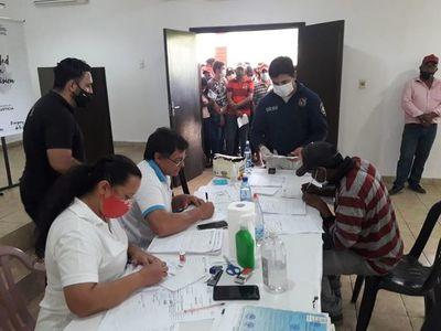 Servicio de cedulación a pobladores de Alto Paraguay