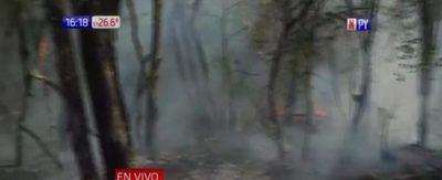 ¡El infierno en Gral. Bruguez! 50.000 hectáreas consumidas