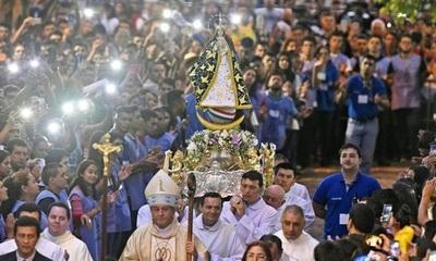 Imagen de la Virgen de Caacupé realizaría gira por departamentos