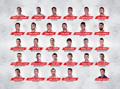 Lista de 28 futbolistas para el primer combo de Eliminatorias