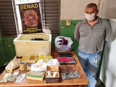 Senad desmantela narcolaboratorio en Pedro Juan Caballero