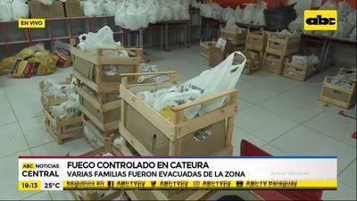 Alberge en colegio ya acoge a casi 150 pobladores de Cateura y piden ayuda con alimentos