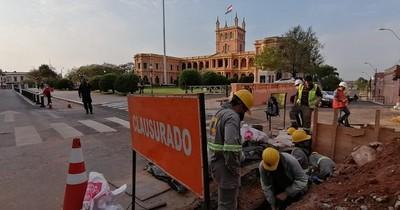 La Nación / Obras de red de alcantarillado en Asunción está en etapa final