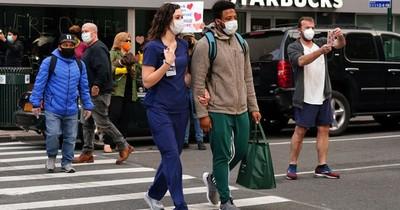 La Nación / La tasa de contagio del coronavirus comienza a aumentar en Nueva York