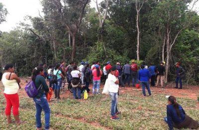 Indígenas reanudan búsqueda de Óscar Denis en bosques de Tranquerita