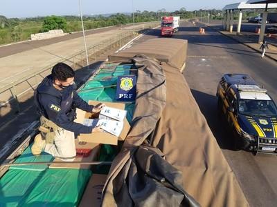 Cae 500 mil GRUESAS de cigarrillos llevados de CONTRABANDO desde el Paraguay
