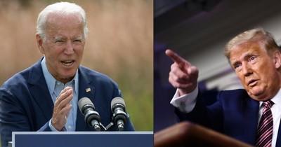 La Nación / Trump y Biden se enfrentan en un debate de alta tensión en EEUU