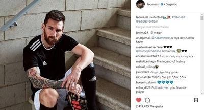 HOY / Messi es el deportista más rentable en Instagram, según Nielsen