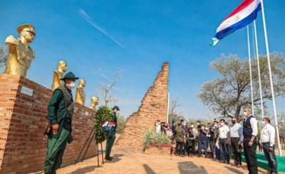 Marito rinde homenaje a los héroes de la Batalla de Boquerón