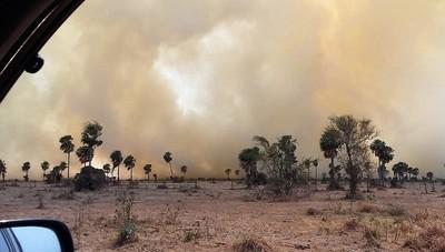 ARP condena quema intencional de campos y pide extremar cuidados para evitar incendios accidentales