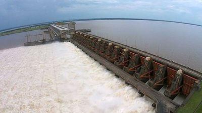 Bajada de río Paraná no afectaría a la producción de energía eléctrica de Yacyretá