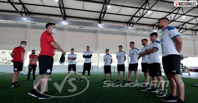 La Selección Nacional inicio entrenamiento de cara a próximos compromisos
