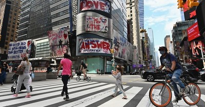 La Nación / Alarma en NYC por fuerte alza de tasa de infección de COVID-19